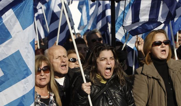 Greek far right party rally targets Islam