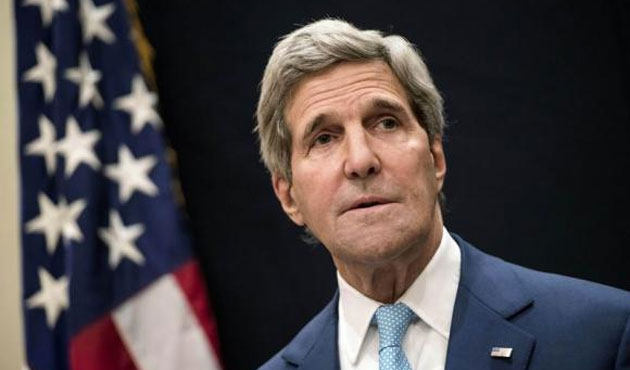Kerry lashes out at Russian 'lies' in Ukraine