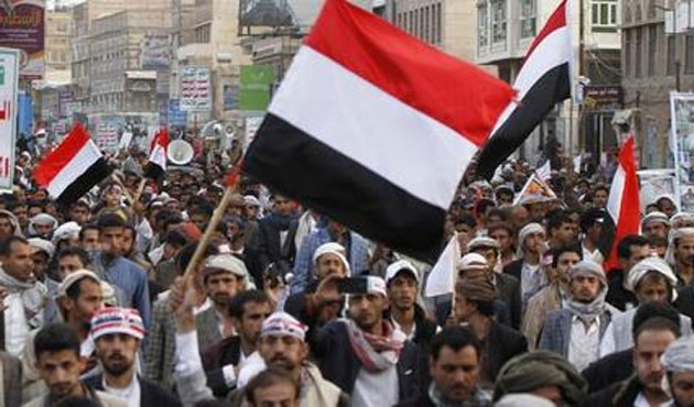 Thousands stage anti-Houthi protests across Yemen -UPDATED
