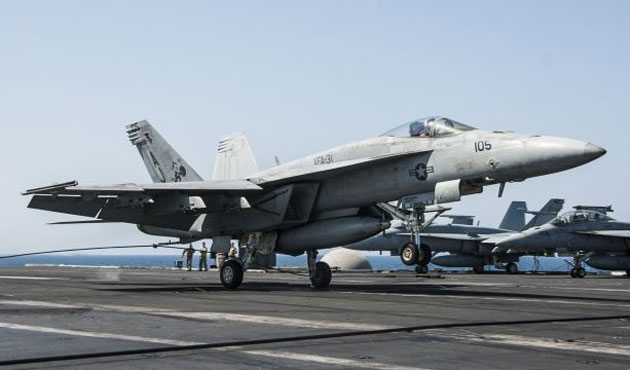 US launches strikes in embattled Afghan district