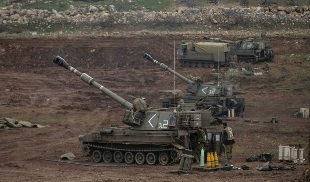 Israel says Iranian forces fired 20 rockets from Syria