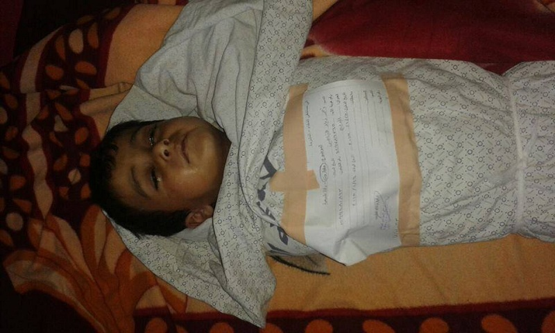 9yr old boy dies after Egypt&Israel refuse to open Rafah