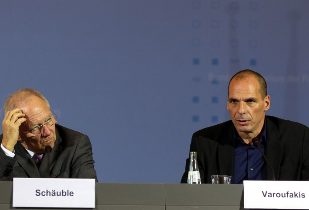 Dialogue of the deaf as Greek and German ministers meet