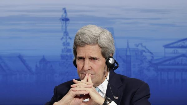 Kerry denies US, Europe differences over Ukraine