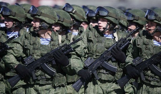 Russian Military exercise in Chechnya