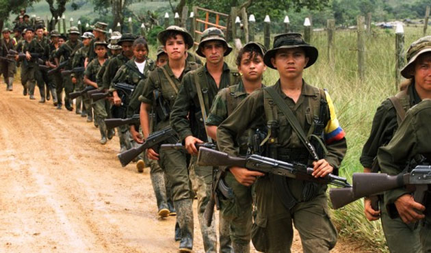 Colombian welfare group demands release of child soldiers