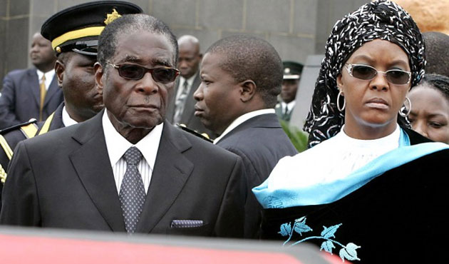 Zimbabwe's Mugabe in Singapore for medical check:report