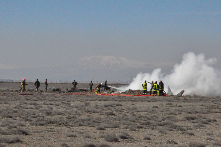 Military aircraft crashes in Turkey