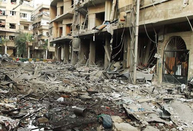 20 killed by Syrian regime 'vacuum bombs'