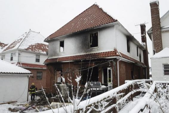New York fire kills seven children