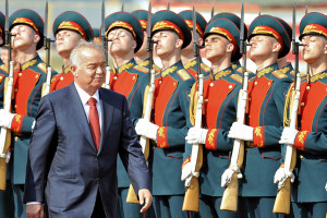 Karimov Heads for Win in Competition-Free Vote