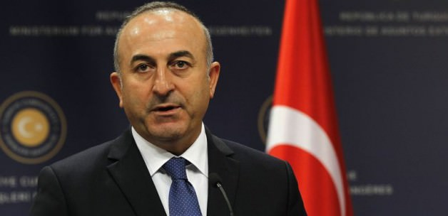 Turkey FM condemns Russian airstrike in Syria
