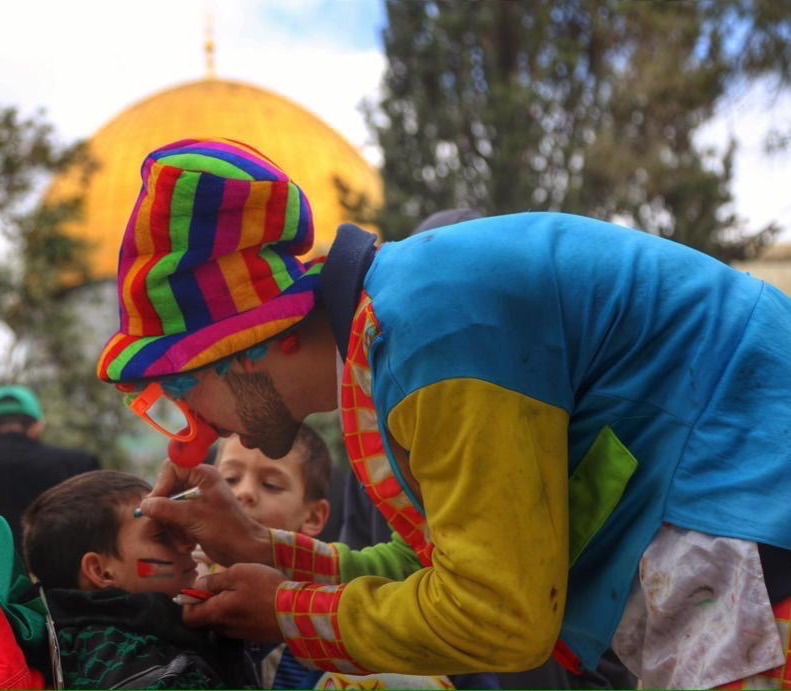 13th Aqsa Child festival as colourfully as butterfly