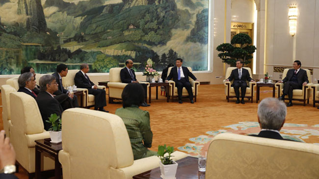 China-Taiwan ruling party leaders to seek cooperation
