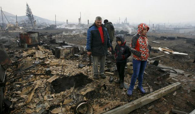 15 killed in wildfires in Republic of Khakassia