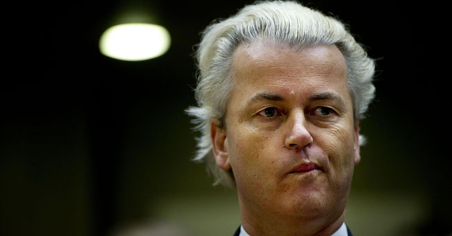Geert Wilders fails to draw crowd at PEGIDA