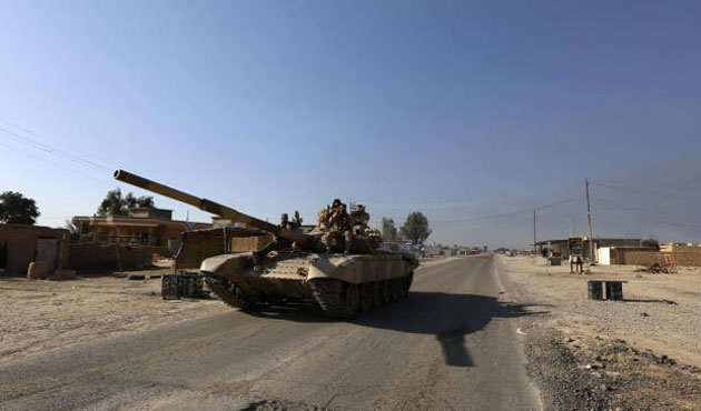 Iraqi forces launch counter-attack in Anbar