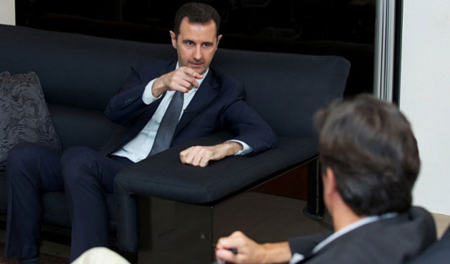 Assad: French, Syrian intelligence agents in contact