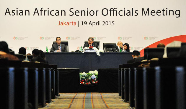 World leaders gather for Bandung Conference in Jakarta