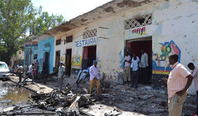 Al Shabaab claims responsibility for restaurant attack