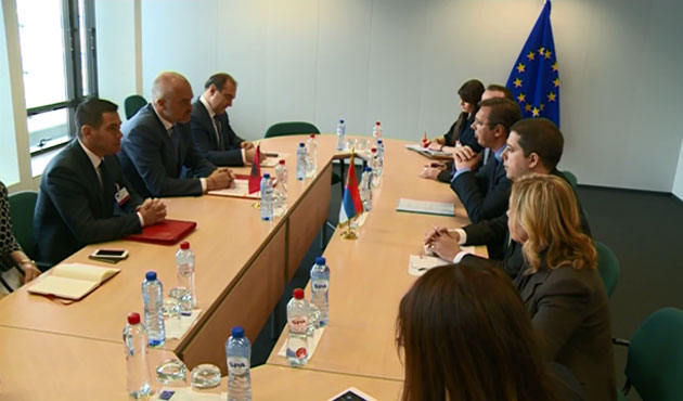Strategical meeting between Serbia and Albania