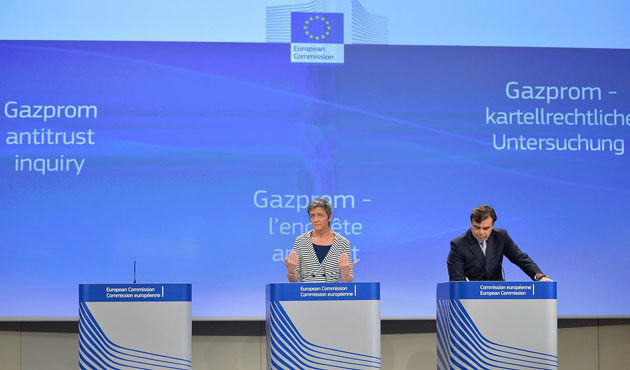 European Commission accuses Gazprom