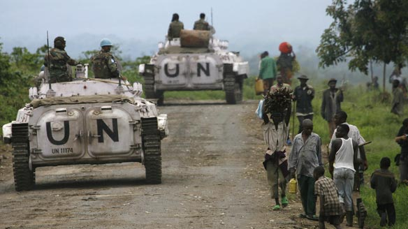 3 UN soldiers kidnapped in Congo