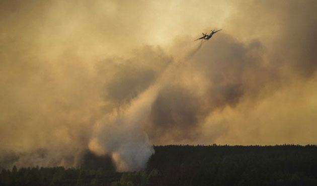 Forest fire in western Turkey contained