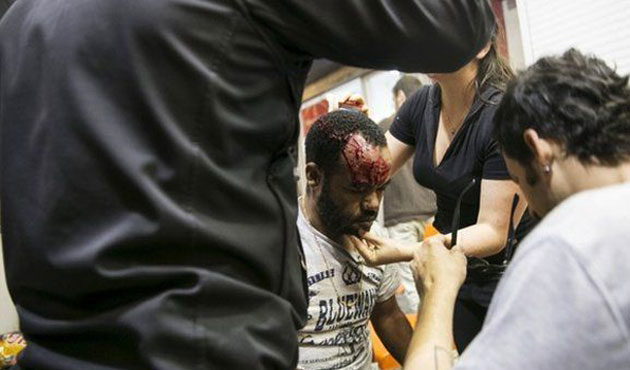Israel police fired tear gas on Ethiopian Jews protesters