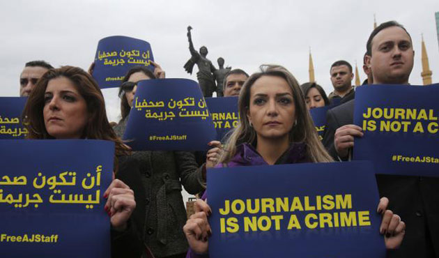 Press conditions in Egypt 'gloomy'