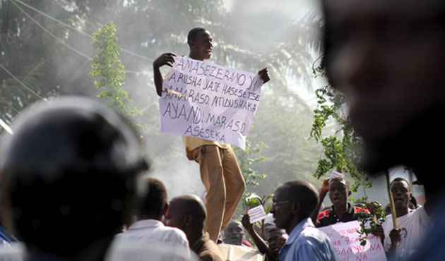 Burundi government says ready to free protesters