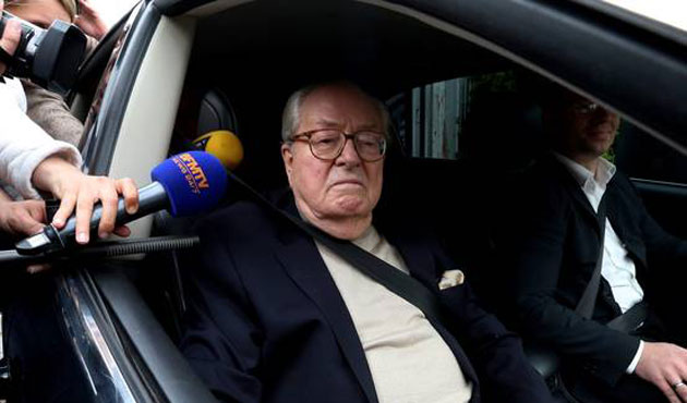 National Front founder Le Pen suspended by his party