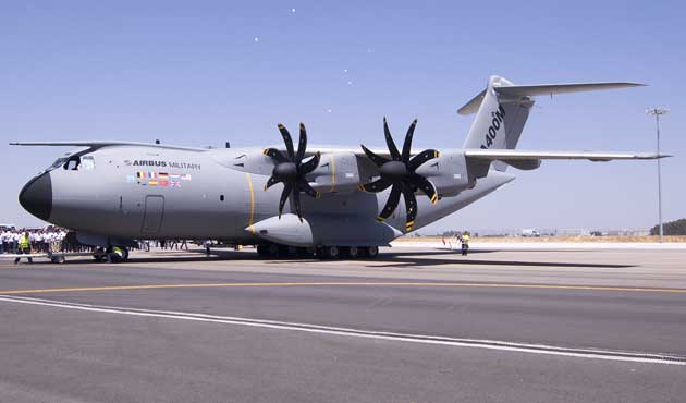 Turkish Air Force grounds A400Ms after Spain crash