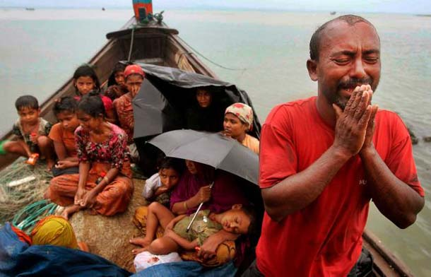 Up to 20,000 refugees adrift in Andaman sea