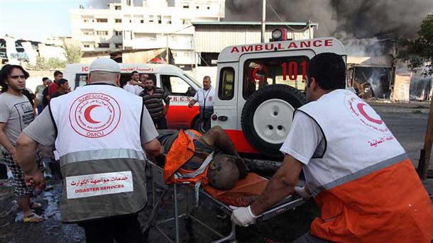 Blast kills 5 people in central Gaza Strip