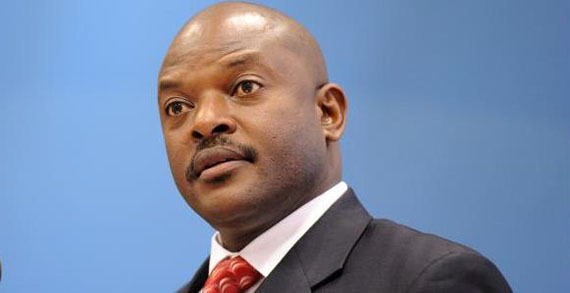 Burundi president sworn in for third term