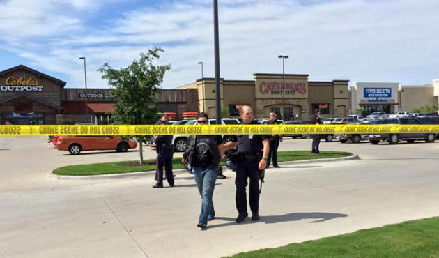 US: 2 officers, 1 civilian shot in Texas