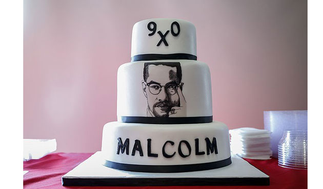 Malcolm X commemorated on his 90th birthday