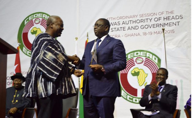 Senegalese President elected new ECOWAS chair
