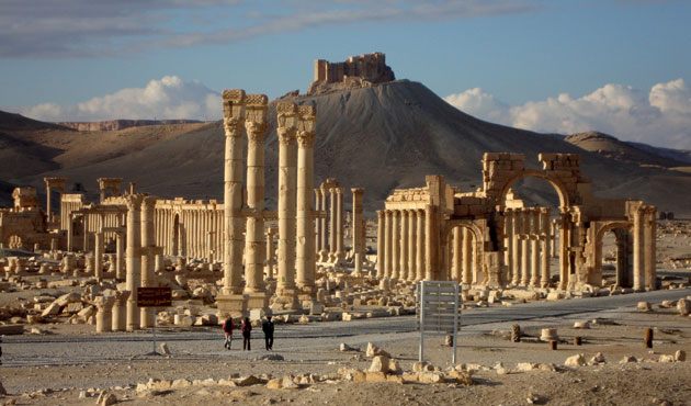 ISIL plants mine and bombs in Palmyra