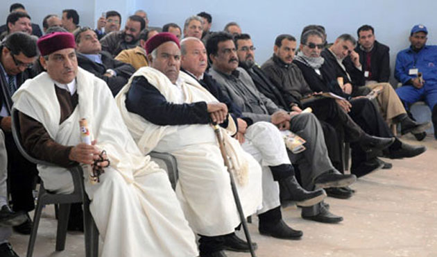 Libyan tribe leaders arrive in Cairo for talks