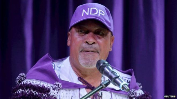 Suriname's Bouterse vies for 2nd term in election