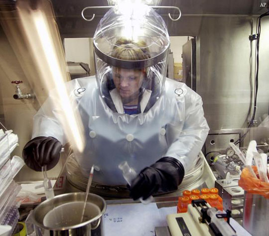 Second anthrax shipment, this time to Australia