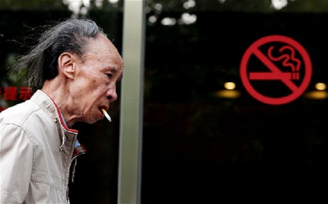 China capital to roll out tough anti-smoking laws