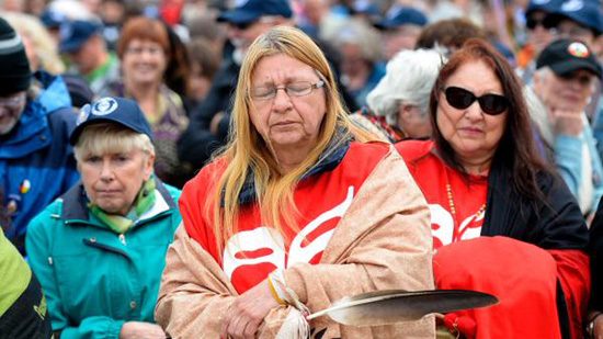 Thousands walk for 'reconciliation' in Canada