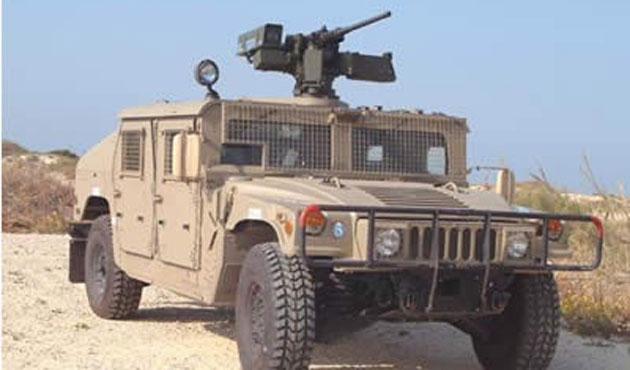 ISIL captured 2300 armoured vehicles in Mosul