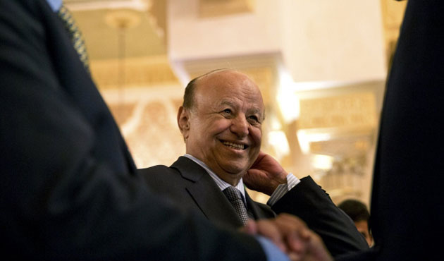 Hadi to meet with Houthis in Geneva
