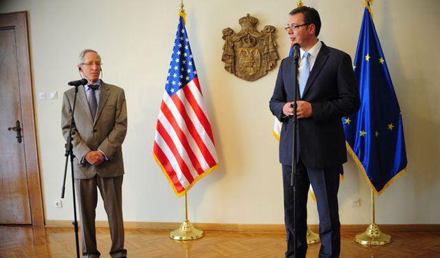 Serbian PM meets with Obama's adviser