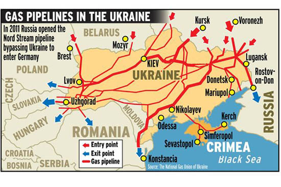 Russia:Ukraine will maintain gas flow to Europe