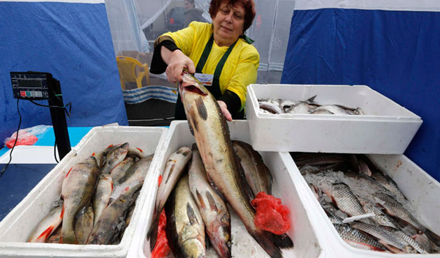 Russia bans fish imports from Latvia and Estonia